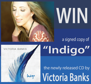 "Win Victoria Banks' newly released CD, ""Indigo"""
