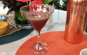 Cocoa Tea Martini