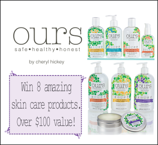 "Win ""ours"" skin care products – by Cheryl Hickey!"