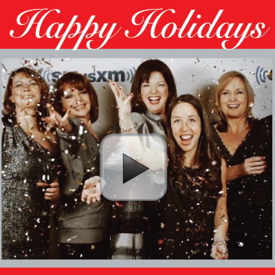We would like to wish you a wonderful holiday season and to give warm thanks for listening to What She Said. From our family to you and yours, HAPPY HOLIDAYS!