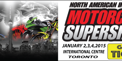 Free Tickets to the Motorcycle Supershow January 2nd to 4th, 2015