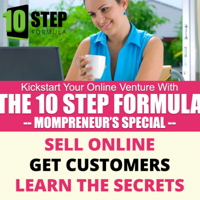 The 10 Step Formula to Kickstart Your Business Online!