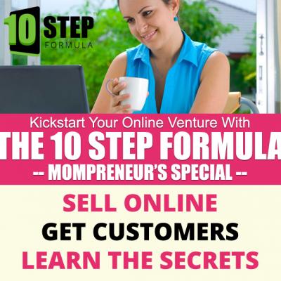 The 10 Step Formula to Kickstart Your Business Online!