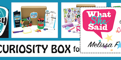 WIN a CURIOUS BOX for your little curious one!