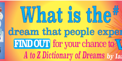 """Win a copy of """"The Complete A to Z Dictionary of Dreams"""", Ian Wallace's best-selling and definitive dream dictionary"""