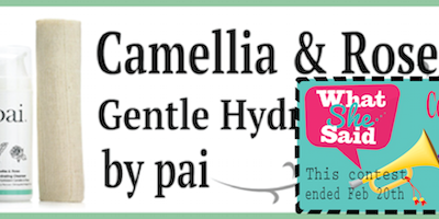 """Win """"Pai Camellia & Rose Gentle Hydrating Cleanser!"""