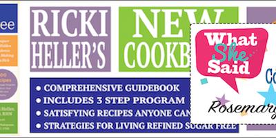 "Ricki Heller's ""Living Candida Free"" – WIN a COPY!!!"