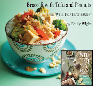 Broccoli with Tofu and Peanuts by Emily Wight
