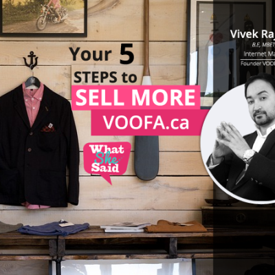 5 Steps to Sell More Online by Vivek Raj Shivhare | VOOFA.ca | VOOFA.net