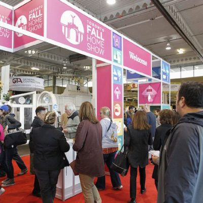 Shape Your Space at the Toronto Fall Home Show