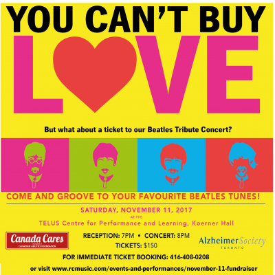 Contest: Canada Cares and the Alzheimer Society of Toronto presents: Jukebox Beatles Tribute Band